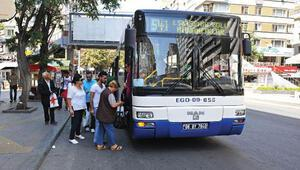 Ankara'da EGO otobüsleri bayram süresince ücretsiz