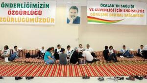 Diyarbakırda, Öcalan için 50 kişi açlık grevine başladı