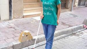 Doğuştan görme engelli öğrenci Merveye barınma işkencesi