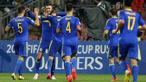 Bosna Hersek farklı kazandı