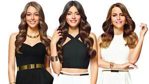 Pantene Altın Kelebekin üç güzeli