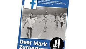 Aftenposten gazetesinden Facebook'a sansür eleştirisi