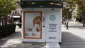 Süleymanpaşa'da bebek emzirme kabinleri devreye giriyor