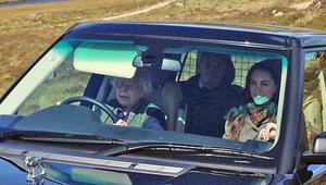 90 yaşındaki Kraliçe direksiyonu kimseye bırakmadı