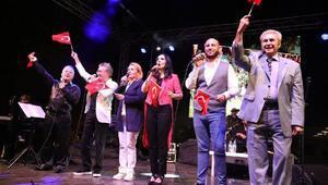 Urlada kurtuluş konseri düzenlendi