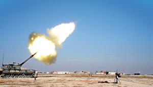 Fırtına obüsü Esad güçlerinin bölgesini vurdu