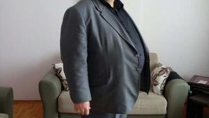 Torbalıdaki imam ameliyat ve diyet ile 47 kilo verdi
