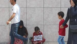 Kayseride yine dilenci Suriyeliler görülmeye başlandı
