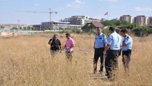 Gaziantepte, boş arazide çürümüş ceset bulundu