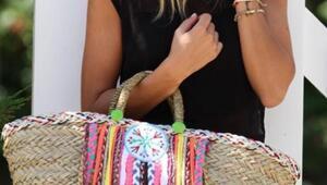 Renk cümbüşü çantalar