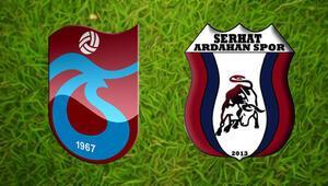 Trabzonspor Serhat Ardahanspor maçı saat kaçta hangi kanalda