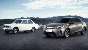 50 yılın sonunda en çok satılan otomobil Toyota Corolla