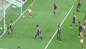 İşte Galatasarayı Arenada öne geçiren gol