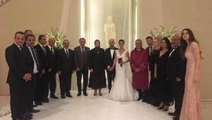 AK Partili Taştanın nikahını Kocaoğlu kıydı