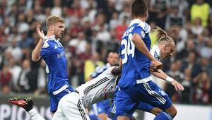 Beşiktaş 1-1 Dinamo Kiev / MAÇIN ÖZETİ