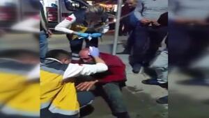 Sahte polise esnaf dayağı