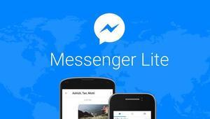 Android telefonlar için Messenger Lite yayında