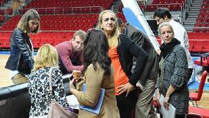 FIBA Yetkilileri İstanbulda incelemeler yaptı