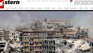 Alman Stern dergisi bugün sadece Halepi yazacak