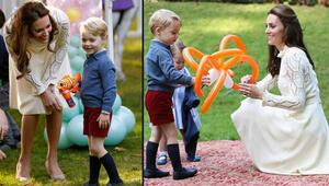 Prens George neden yaz- kış hep şort giyiyor