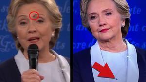 Hillary Clintonın yüzüne konan sinek meşhur oldu