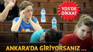 Ankarada giren adaylara ulaşım hizmeti