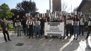 Ankaradaki bombalı saldırı Eskişehirde protesto edildi
