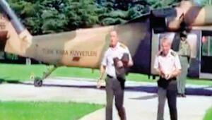 Orgeneral Akarı Akıncı Üssünden Çankaya Köşküne götüren pilot Albay Uğur Kapanın ifadesi