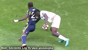 Fenerbahçede penaltı tartışması