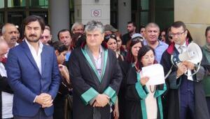 Avukatlardan gözaltı protestosu