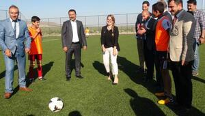 Kiliste Türk ve Suriyeli çocuklar maç yaptı