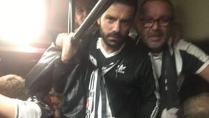 Napoli polisinden Beşiktaş taraftarına eziyet
