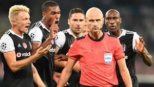 Napoli - Beşiktaş maçında olay penaltı kararları
