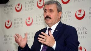 """Destici: """"Çocukları PKKdan korumak için tecrübeli öğretmen şart"""""""