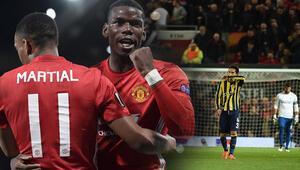Manchester United 4-1 Fenerbahçe / MAÇIN ÖZETİ