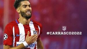 Atletico Madridden Carrascoya yeni sözleşme