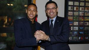 Ve Neymar imzayı attı