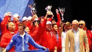 The Bodrum Cupta dereceye girenler ödüllerini aldı