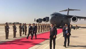 ABD Savunma Bakanı Carter, Erbil'de Barzani ile görüştü
