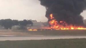 Maltada havalanan uçak düştü 5 kişi öldü