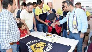 Genç Fenerbahçeliler, Siirtteki engellileri unutmadı