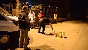Adana'da polis merkezine ses bombası atıldı