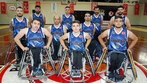 Engelli basketçiler Bağcıları ağırlıyor