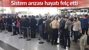 Havalimanlarında POLNET kuyruğu