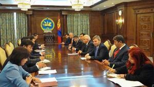Erdoğan başkanlığındaki heyet Moğolistan'da