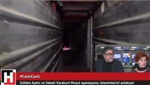 Musul tünellerine giren Hürriyet muhabirleri #CanlıCanlı anlattı