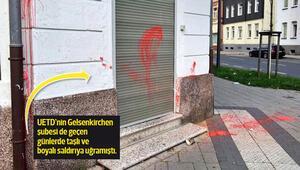 UETD Grevenbroich şubesine çirkin saldırı