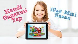 Kendi gazeteni yap iPad mini kazan