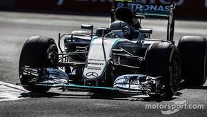 Rosbergi Meksikada şartlar zorlamış