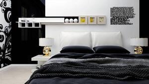 Yatak odaları için duvar fikirleri